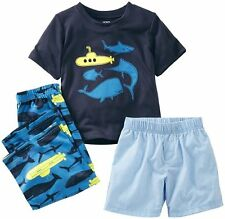 "AUTH.BNWT CARTERS TODDLER ""SUBMARINE"" 3 PIECE SET (24 MOS.)"