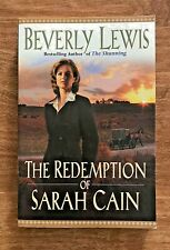"Beverly Lewis ""The Redemption of Sarah Cain"" Paperback - Very Good Condition"