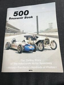 Indianapolis Motor Speedway 1983, 500 Souvenir Book, Thrilling Story