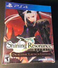 Shining Resonance Refrain [ Draconic Launch Edition STEELBOOK Pack ] (PS4) NEW