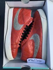 Nike SB Blazer Supreme White 2006 (Painted Red) 100% Authentic