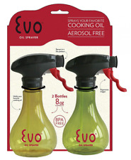 Evo Kitchen Oil Sprayers and Grill Olive Oil and Cooking Oil Trigger Sprayer Set
