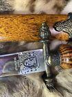 Vintage antique wooden sword