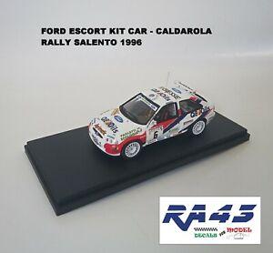 1/43 Ford Escort Kit Car Rally Salento 1996 Caldarola