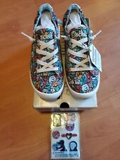Women's Bobs by Skechers BEACH BINGO WOOF PACK 32604 Lace-up Comfort Shoes 8