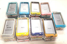 Samsung Galaxy S2 GT I9100 Bumper Case Cover Back Wholesale Yellos Blue White