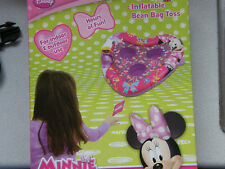 DISNEY  MINNIE  MOUSE  INFLATABLE  BEAN  BAG  TOSS  TOY