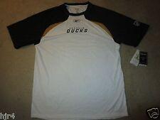 Anaheim Ducks Reebok Training Running Play-Dri NHL Shirt XL NEW