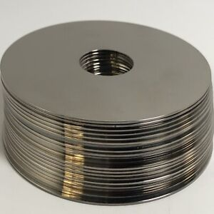 """1LB Hard Drive platters (3.5"""") - metal recovery / crafting / wind chimes MV2472"""