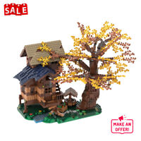 Arcadian Hut Tree House Building Blocks Toys Sets MOC-55068 Bricks Model Toy Kid