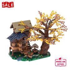 Arcadian Hut Tree House Building Blocks Toys Sets MOC-55068 Bricks Model Toy Kid