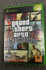 Grand Theft Auto: San Andreas GTA (Original Xbox) Complete