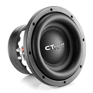 """CT Sounds Strato 10"""" Dual 2 Ohm Car 10 Inch Subwoofer D2 1250w Watts RMS Audio"""