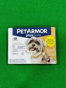 PetArmor Plus Flea And Tick Treatment For Small Dogs 5-22 lbs. 3 Doses
