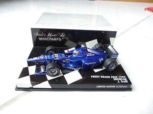 Prost Peugeot Showcar 1999 Jarno Trulli #19 MINICHAMPS 1/43 1999 F1 Fórmula 1