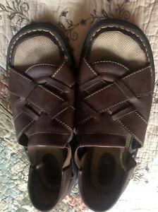 Eastland women's sandals-straps-Brown-size 10W?-