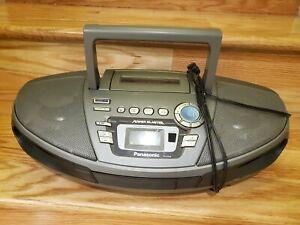 Panasonic RX-ES30 CD Tape Radio Power Blaster Boombox Ghetto Blaster w/ Remote