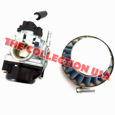 Carburetor & Air Filter Combo Tomoas A35 Dellorto Sytle Sha 14:12p Colbri