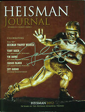 Johnny Manziel Signed 2012 Heisman Trophy Program (PSA/DNA)