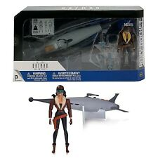 "ROXY ROCKET Deluxe 6"" Batman Animated Action Figure & Vehicle Deluxe Series"