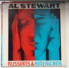 """AL STEWART """"RUSSIANS & AMERICANS"""" RARE SPANISH PROMOTIONAL 12"""" VINYL WITH INFO"""