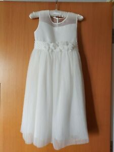 Ivory Flower Girl/Holy Communion Dress. Age 11 New with tags