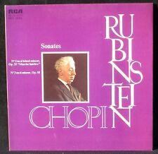 Chopin Rubinstein Sonates 2 & 3 LP & CV EX