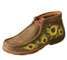 Women's Twisted X Sunflower Driving Mocs Style- WDM0128