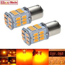 2 x 30 LED 6V Amber Car Bulb 1157 bay15d 1154 S25 Light Brake Turn Signal Lamp