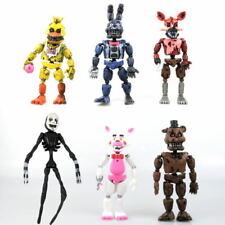 "Fnaf Five Nights At Freddy's 6 pcs Figure Action 6"" Model Set Detachable Toys"