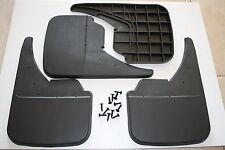 UNIVERSAL MUDFLAPS  Mud Flaps Car Blank Rubber Black Full Set .