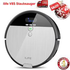ILIFE V8S Staubsauger Saugroboter Roboter mit LCD Display Nass&Trockensauger DE