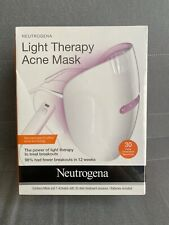 LIGHT THERAPY ACNE MASK WITH 1 ACTIVATOR NOS EXPIRED 11/30/2020
