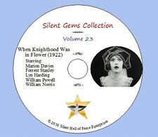 """DVD """"When Knighthood Was in Flower""""(1922) Marion Davies, Classic Silent Drama"""