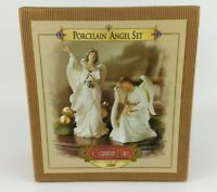 GRANDEUR NOEL PORCELAIN ANGEL SET Collector's Edition 2000
