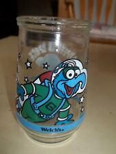 1998 Henson Welch's Muppets In Space Gonzo the Great Blasts Off Juice Glass