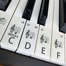 Hannott 001 Piano/Keyboard Sticker - 61 Pieces