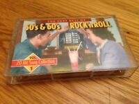 The Very Best of 50's and 60's Rock and Roll Cassette 1