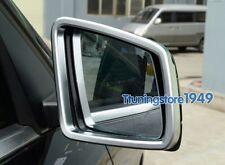 Matt Chrome Side Mirror frame trim Mercedes Benz W164 ML X164 GL-Class 2011 2012