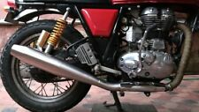 ROYAL ENFIELD CONTINENTAL GT 535 MATT STEEL RED ROOSTER PERFORMANCE EXHAUST