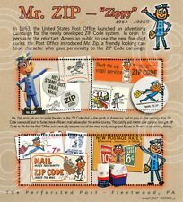 Mr. Zip - Postal / Philatelic History: (Artistamp, Cinderella, Faux Postage)