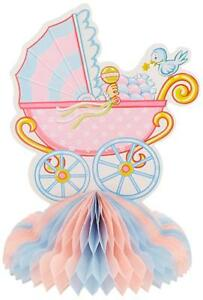 Baby Shower Centerpiece Stroller Party Decoration 10 inches
