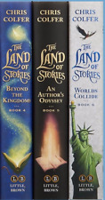 The Land of Stories BOOK #4,5,6  (3 Hardcover Books)