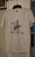 One of kind original art t-shirt sz small Zombie Prom Date Sugarlynn Grindcore