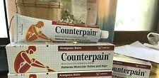 2 X 120g Balm Counterpain Analgesic Hot Cream Muscular Pain Ach Squibb / Taisho