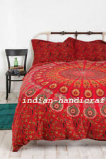 Bedding Set Quit Duvet Doona Cover King Size Bed Mandala Hippie Gypsy Indian
