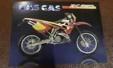 Original new old stock GasGas EC 250 brochure enduro