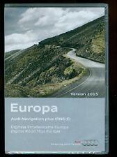 AUDI NAVIGATION PLUS RNS-E VERSION 2015 WEST- und OSTEUROPA 3 x DVD  OVP