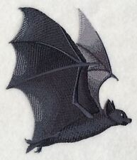 """Bat Flying Embroidered Patch 4.6"""" x 5.5"""""""