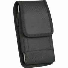 Belt Clip Vertical Holster Pouch Case Cover For iPhone Samsung Large Cell Phone